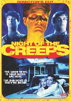 Night of the Creeps DVD Cover